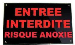 signalisation lumineuse risque d'anoxie